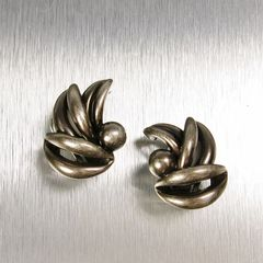 Marjorie Baer Leaf Bunch Earrings - product images 1 of 7