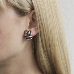 Marjorie Baer Leaf Bunch Earrings - product images 7 of 7