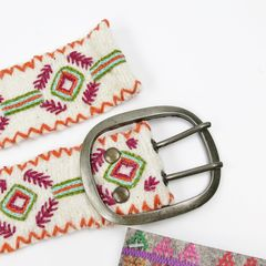 Jenny Krauss Felted Mexican Ramitas Belt - product images 7 of 8