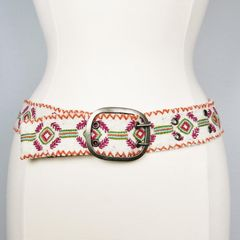 Jenny Krauss Felted Mexican Ramitas Belt - product images 1 of 8