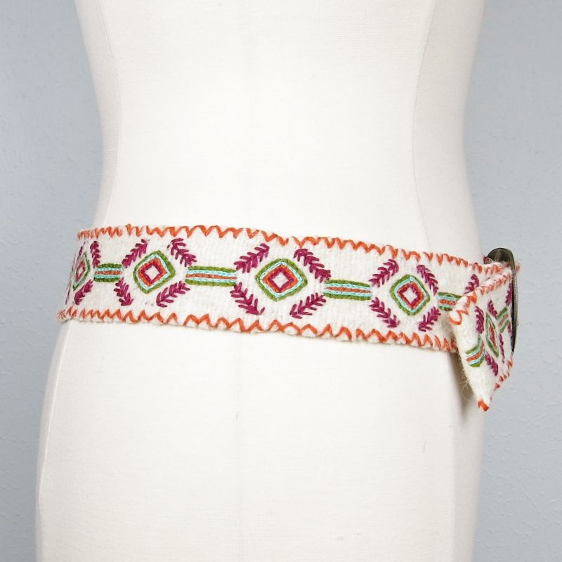 Jenny Krauss Felted Mexican Ramitas Belt - product image