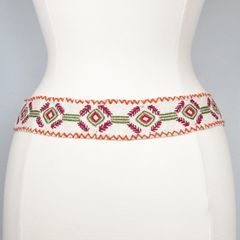 Jenny Krauss Felted Mexican Ramitas Belt - product images 3 of 8