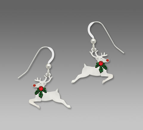 Sienna,Sky,Earrings,-,Reindeer,with,Holly,Around,Neck,Sienna Sky Earrings, Adajio earrings Sienna Sky, Sienna Sky Colorado