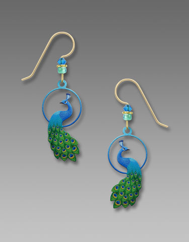 Sienna,Sky,Earrings,-,Peacock,In,Blues,and,Greens,Sienna Sky Earrings, Sienna Sky Colorado, Sienna Sky Earrings Peacock In Blues and Greens, Sienna Sky 2005