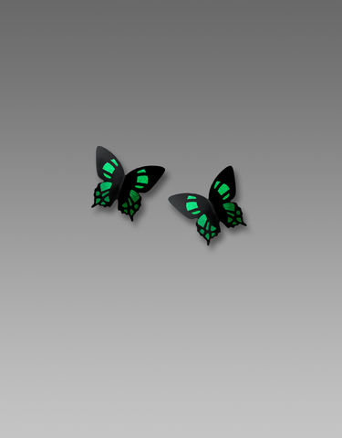 Sienna,Sky,Post,Earrings,-,Green,Malachite,Butterfly,Sienna Sky Post Earrings, Sienna Sky Green Malachite Butterfly Earrings, Sienna Sky 1909
