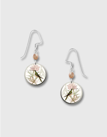 Lemon,Tree,-,Bird,and,Flower,Branch,Disc,Earrings,Lemon Tree Earrings Colorado, Lemon Tree Earrings Bird and Flower