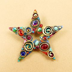 Michal Golan - Confetti Star Brooch - product images 1 of 5