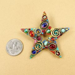 Michal Golan - Confetti Star Brooch - product images 2 of 5