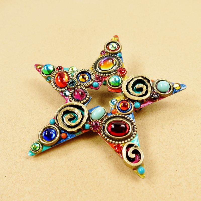 Michal Golan - Confetti Star Brooch - product image