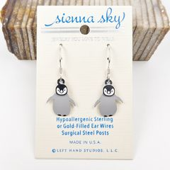 Sienna Sky Earrings - Baby Penguin - product images 2 of 4