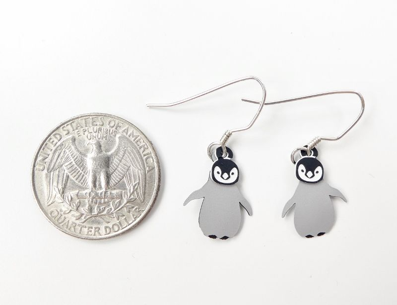 Sienna Sky Earrings - Baby Penguin - product image