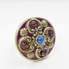Michal Golan - Lazuli Cocktail Ring - product images 3 of 6