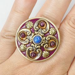 Michal Golan - Lazuli Cocktail Ring - product images 6 of 6