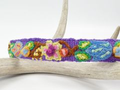 Jenny Krauss Embroidered Headband - Purple - product images 3 of 5