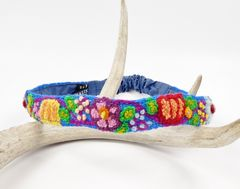 Jenny Krauss Embroidered Headband - Blue - product images 1 of 6