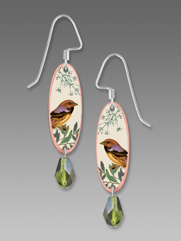 Lemon,Tree,-,Bird,on,Branch,Print,Long,Oval,Earrings,Lemon Tree Earrings Colorado, Lemon Tree Earrings Parrot