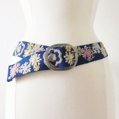 Jenny,Krauss,Wonderland,Belt,Jenny Krauss Wonderland Belt, jenny krauss embroidered peruvian belt, Jenny Krauss wool embroidered belt