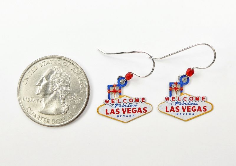Sienna Sky Earrings - Welcome to Vegas - product image