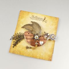 Mullanium - Flying Bird Pin - product images 6 of 6