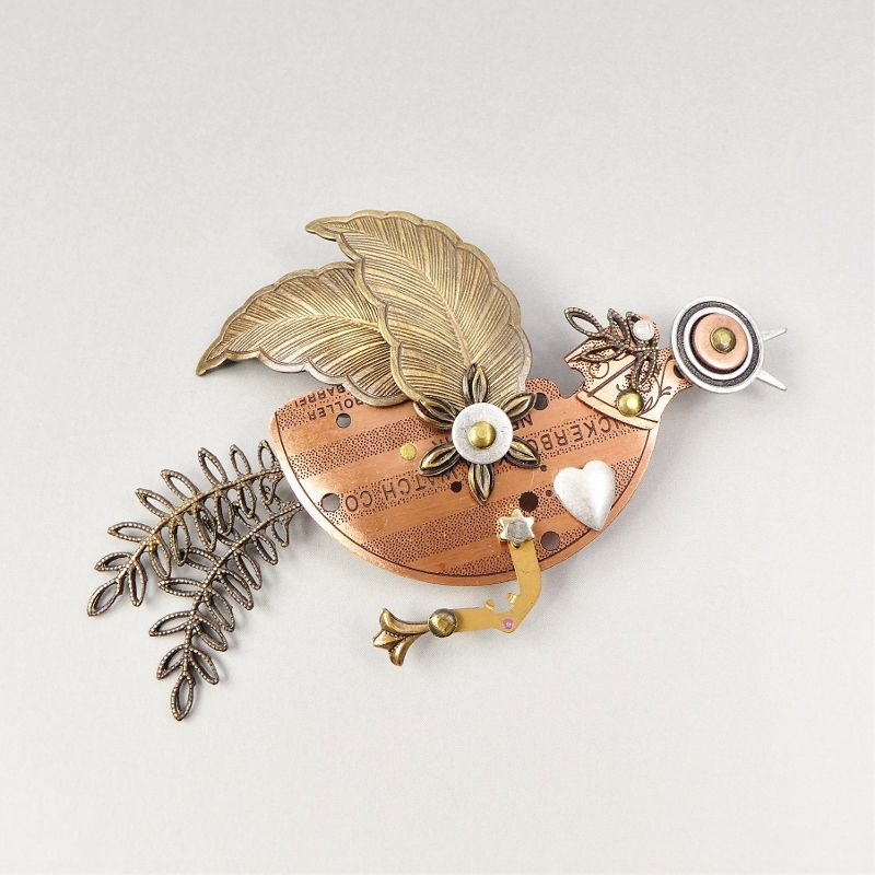 Mullanium - Flying Bird Pin - product image
