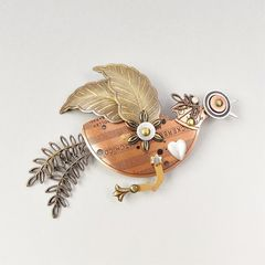 Mullanium - Flying Bird Pin - product images  of