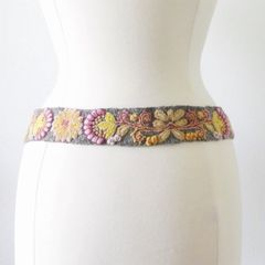 Jenny Krauss Heather Gray Belt - product images 3 of 10
