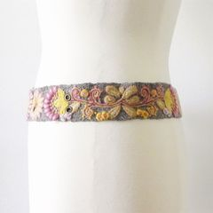 Jenny Krauss Heather Gray Belt - product images 4 of 10