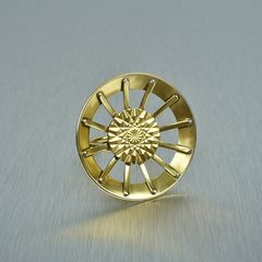 Marjorie Baer Geometric Sunburst Ring - product images 1 of 3