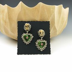 Serpentine Hearts Earrings - product images 5 of 5