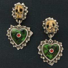 Serpentine Hearts Earrings - product images 1 of 5