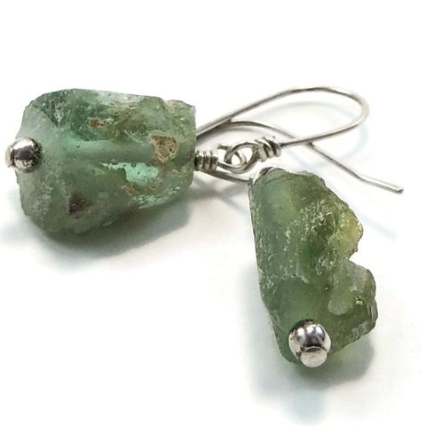 Ancient,Roman,Glass,Earrings,Artisan,Designed,and,Handcrafted,jewelry, earrings, glass, ancient roman glass, ancient glass, sterling silver, handcrafted, handmade, artisan, night sky jewelry, nightskyjewelry, sharon burgess